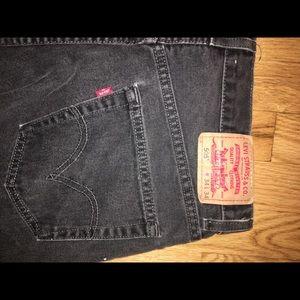 Levi 505 Black jeans